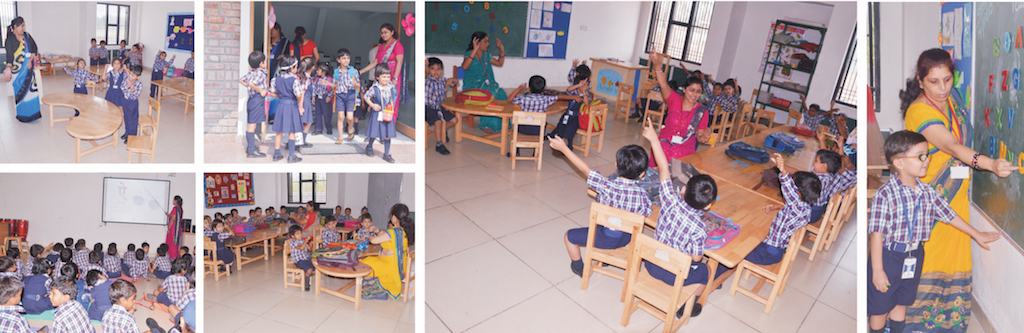 Playgroup - UKG - KG Classrooms